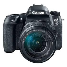 Canon EOS 77D + 18-55 IS STM (1892C017AA) černý + Cashback 2500 Kč + Doprava zdarma