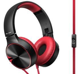 Pioneer SE-MJ722T-R (SE-MJ722T-R) černá/červená