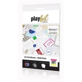 Náhradní fólie ControvARTsial A4 pro PlayFoil - vícebarevné