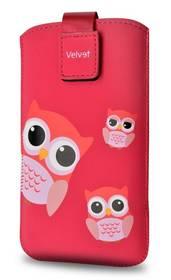 """FIXED Velvet Owlet, XXL (vhodné pro 4,7"""" - 5"""") (RPVEL-054-XXL) červené"""