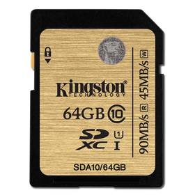 Kingston SDXC 64GB UHS-I U1 (90R/45W) (SDA10/64GB)