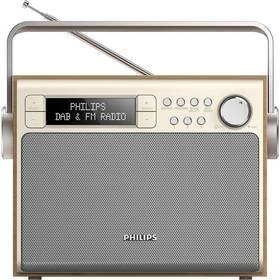 Philips AE5020 zlatý/dřevo