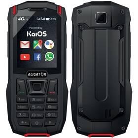 Aligator K50 eXtremo (AK50BR) černý/červený (vrácené zboží 8801004170)