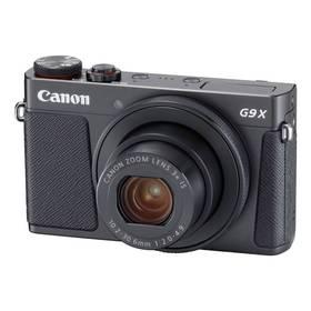 Canon PowerShot PowerShot G9 X Mark II Black (1717C002) černý + Cashback 800 Kč + Doprava zdarma