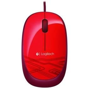 Logitech M105 (910-002942) červená (vrácené zboží 8800349323)