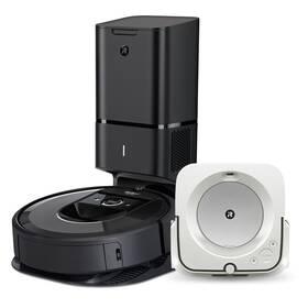 iRobot Roomba i7+ / Braava jet m6 čierny/biely
