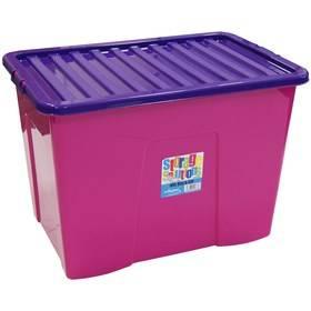 Box úložný WHAM 80 l (15425) ružový