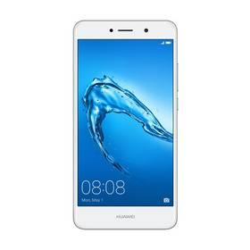 Huawei Y7 Dual SIM (SP-Y7DSSOM) stříbrný SIM s kreditem T-Mobile 200Kč Twist Online Internet (zdarma) + Doprava zdarma