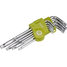 EXTOL CRAFT 66011, L-klíče, 9 ks ocel