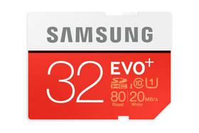 Samsung SDHC EVO+ 32GB UHS-I U1 (80R/20W) (MB-SC32D/EU)