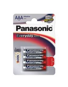 Panasonic AAA, LR03, Everyday, blistr 4ks