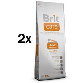 Brit Care Adult Medium Breed Lamb & Rice 2 x 12 kg + Doprava zdarma