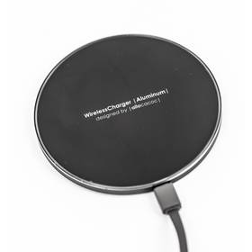 Powercube Wireless Charger Aluminum černá