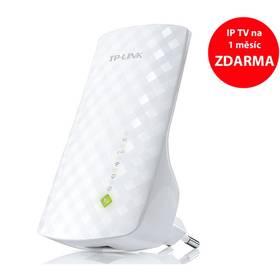 TP-Link RE200 AC750 + IP TV na 1 měsíc ZDARMA (RE200) bílý