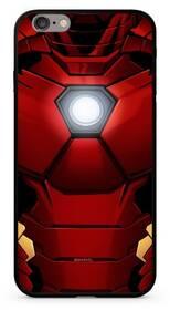 Marvel Premium Glass Iron Man pro Apple iPhone Xs (MPCIMAN7906) červený