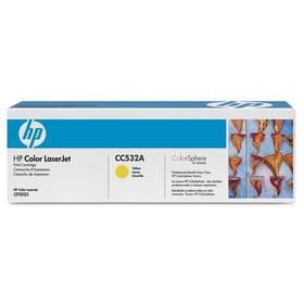HP CC532A, 2,8K stran - originální (CC532A) žlutý + Doprava zdarma