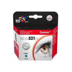 TB Canon CLI-521C - kompatibilní (TBC-CLI521CY) modrá