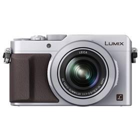 Panasonic Lumix DMC-LX100EPS stříbrný + Doprava zdarma