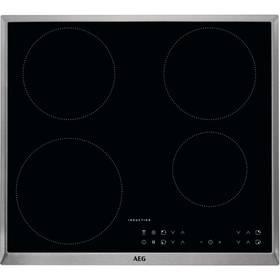 Indukční varná deska AEG Mastery IKB64301XB černá