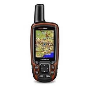 Navigačný systém GPS Garmin GPSmap 64s + SK TOPO (010-01199-10) čierna/oranžová