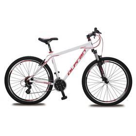 """Olpran EXTREME 27,5"""" bílé/červené Sada cyklodoplňků (zvonek+blikačka+světlo) pro kolo dospělé (zdarma) + Doprava zdarma"""