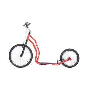 Yedoo New Mezeq New V-brake černá/červená + Reflexní sada 2 SportTeam (pásek, přívěsek, samolepky) - zelené v hodnotě 58 Kč + Doprava zdarma