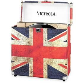 Victrola na vinylové desky (VSC-20-UK-EU) červený