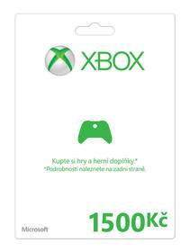 Microsoft Xbox LIVE FPP Czech Czech Republic 1500 CZK (K4W-03078)