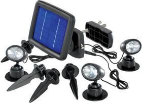 CNR LED Renkforce, solární černé + Doprava zdarma