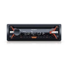 Autorádio s CD Sony CDX-G1101U čierne