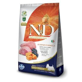 N&D Grain Free Pumpkin DOG Adult Mini Lamb & Blueberry 7kg