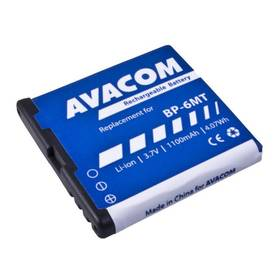Baterie Avacom pro Nokia E51, N81, N81 8GB, N82, Li-Ion 1100mAh (náhrada BP-6MT) (vrácené zboží 8800156589)