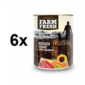 Farm Fresh Goat with Carrots 6 x 400 g