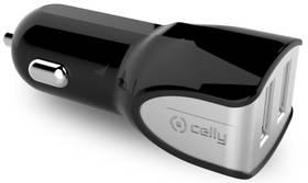 Celly Turbo, 2x USB, 3,4A (CC2USBTURBOBK) čierna
