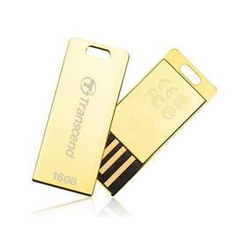 Transcend JetFlash T3G 16GB (TS16GJFT3G) zlatý
