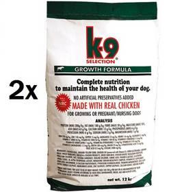 K-9 Growth Formula 2 x 12 kg + Doprava zdarma