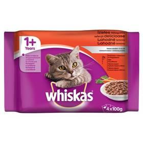 Whiskas v krémové omáčce 4pack (4x100 g)
