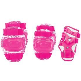 Spokey AEGIS dětské - 3-dílná sada velikost M růžová barva