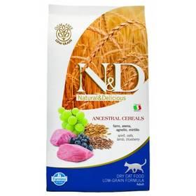 N&D Low Grain CAT Adult Lamb & Blueberry 10 kg + Doprava zdarma