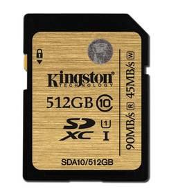Kingston SDXC 512GB UHS-I U1 (90R/45W) (SDA10/512GB) + Doprava zdarma