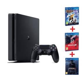 Sony PlayStation 4 SLIM 1TB Family pack (PS719805465 ) černá + Doprava zdarma