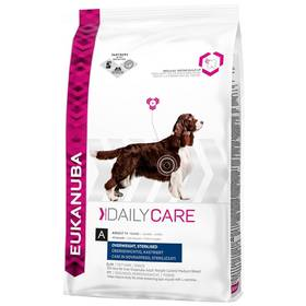 Eukanuba Daily Care Excess Weight 12,5 kg + Doprava zdarma