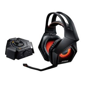 Asus STRIX 7.1 (90YH0091-M8UA00) černý/oranžový Podložka pod myš Asus Echelon Gaming Pad (zdarma) + Doprava zdarma