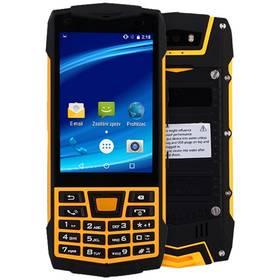 CUBE 1 T1C Dual SIM černý/žlutý + Doprava zdarma