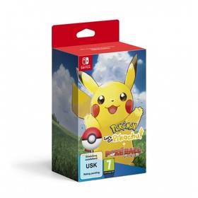 Nintendo SWITCH Pokémon Let's Go Pikachu! + Poké Ball Plus (NSS539)