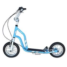 """Master Ride 12"""" modrá + Reflexní sada 2 SportTeam (pásek, přívěsek, samolepky) - zelené v hodnotě 58 Kč"""