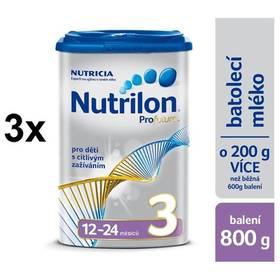 Nutrilon 3 Profutura od ukončeného 12. měsíce, 800g x 3ks