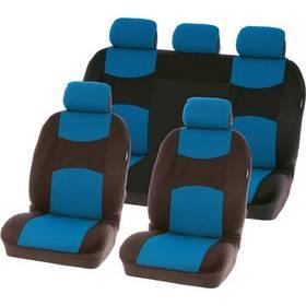 Potahy sedadel Carpoint na celé vozidlo - Chicago sada 9 dílů - modré