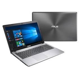 """Asus X550ZE-XX213T (X550ZE-XX213T ) stříbrný Brašna na notebook ATTACK IQ Cord 15.6"""" - černá (zdarma) + Software za zvýhodněnou cenu + Doprava zdarma"""