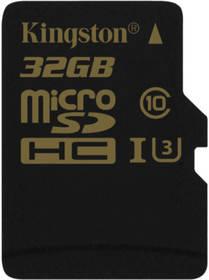 Kingston MicroSDHC 32GB UHS-I U3 (90R/45W) (SDCG/32GBSP) černá